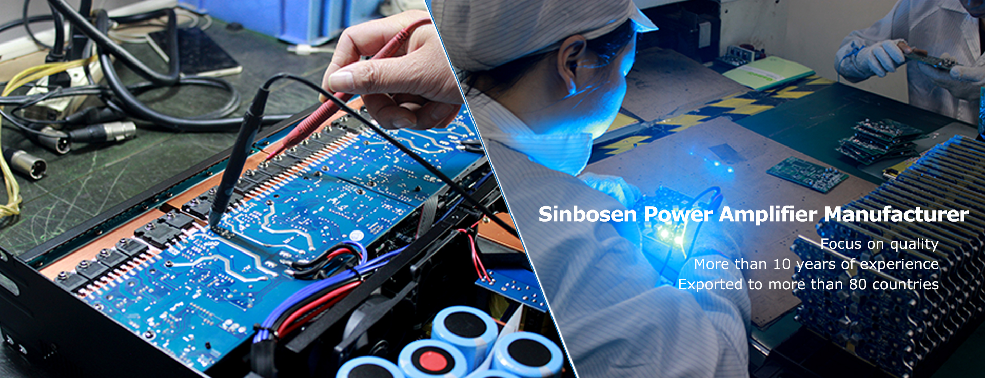 Sinbosen Audio Amplifier Manufacturer More than 10 years of experience
