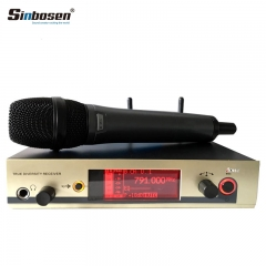Sinbosen EW300G3 high quality UHF professional handheld wireless microphone