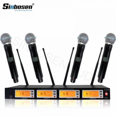 Sinbosen professional one to four channel wireless microphone UT-880E