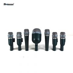 Sinbosen professional instrument cardioid dynamic  wired drum microphone kit TK-5B