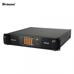 Sinbosen DSP20000Q 2200w 4 channel DSP power amplifier with dsp audio software