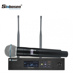 Sinbosen QLXD4 Professional High Quality Handheld Wireless Microphone for Stage
