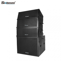 Sinbosen Professional Speaker Line Array System Sn2008 Double 8 Inch Line Array