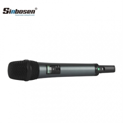 Sinbosen Karaoke Microphone WED1 Wireless Microphone System with Cardioid Dynamic Vocal Handheld Microphone