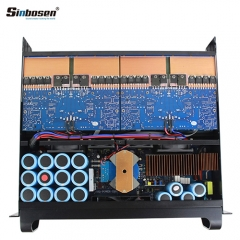Sinbosen FP10000Q power amplifier upgraded version powerful working perfectly with dual 15 inch speakers
