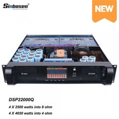 Sinbosen Touch Screen DSP Module Power Amplifier DSP22000q Professional DSP Amplifier