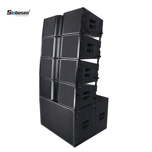 Sinbosen sound speaker KA210 audio line array powered loudspeaker dj equipment 10 inch pa system speaker with 18 inch subwoofer