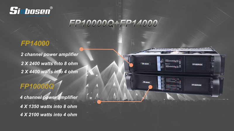 Why these Sound engineer love Sinbosen FP10000Q FP14000 amplifier?