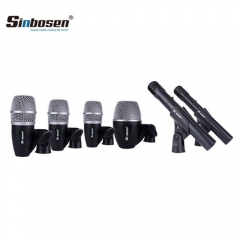 Sinbosen PGDMK6 drum microphone professional musical instrument microphone set of six