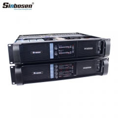 Sinbosen Amplifier Group 2 Channels Fp14000 4 Channels Fp10000q Professional Power Amplifier for Line Array
