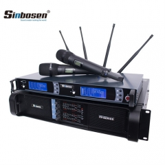 Sinbosen New Group Fp10000q Professional Power Amplifier with Skm9000 Wireless Microphone