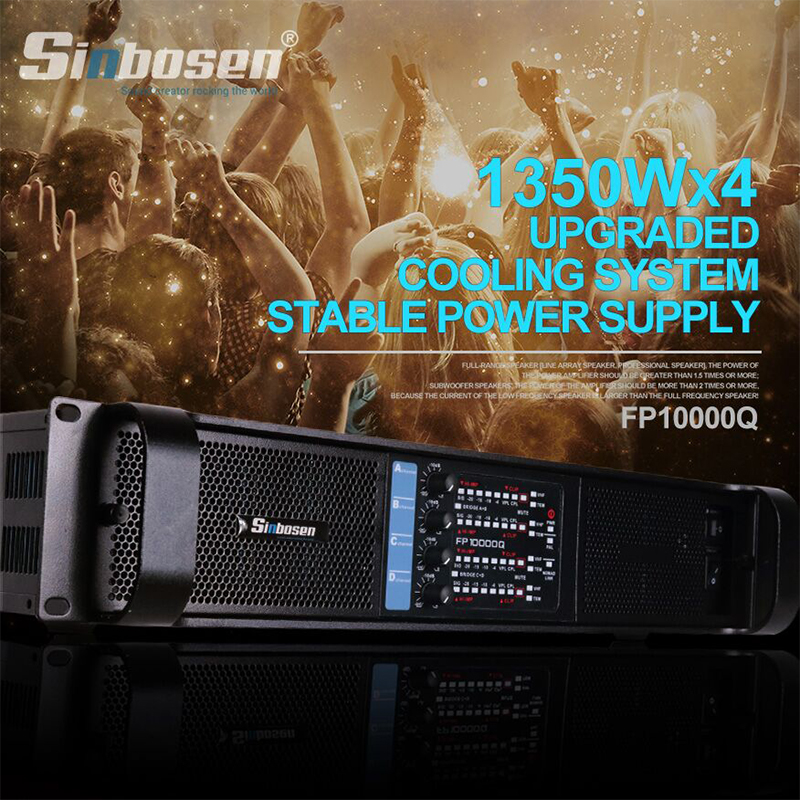 Powerful FP10000Q Amplifier Creates A Powerful Stage!
