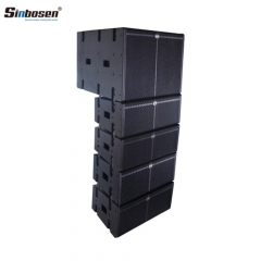 Sinbosen Dj Powered Speaker LA-208B(DSP) Professional Dual 8 inch Line Array Speaker