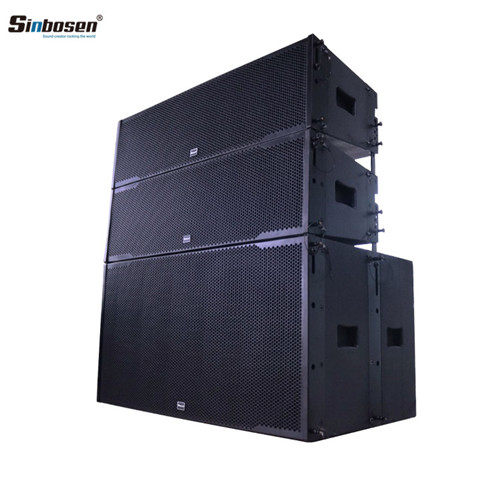 Sinbosen professional line array speakers dual 12 inch line array LA-212 dj speaker