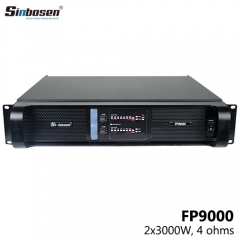 Sinbosen FP9000 two channel amp 4000 watt power amp for best line array speakers