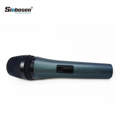 Sinbosen Dynamic Musical HyperCardioid Mic E845 Handheld Wired Audio Studio Microphone