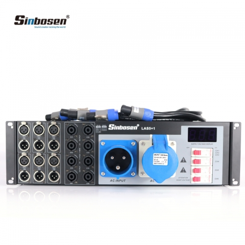 LAS5+1 8 Channel Distributor Professional Sound System Line Speakers Power Controller