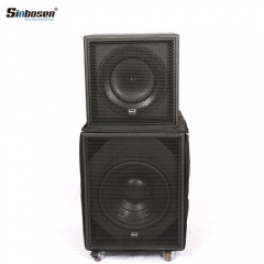 Sinbosen S-118 professional audio speaker 18 inch coaxial bass subwoofer