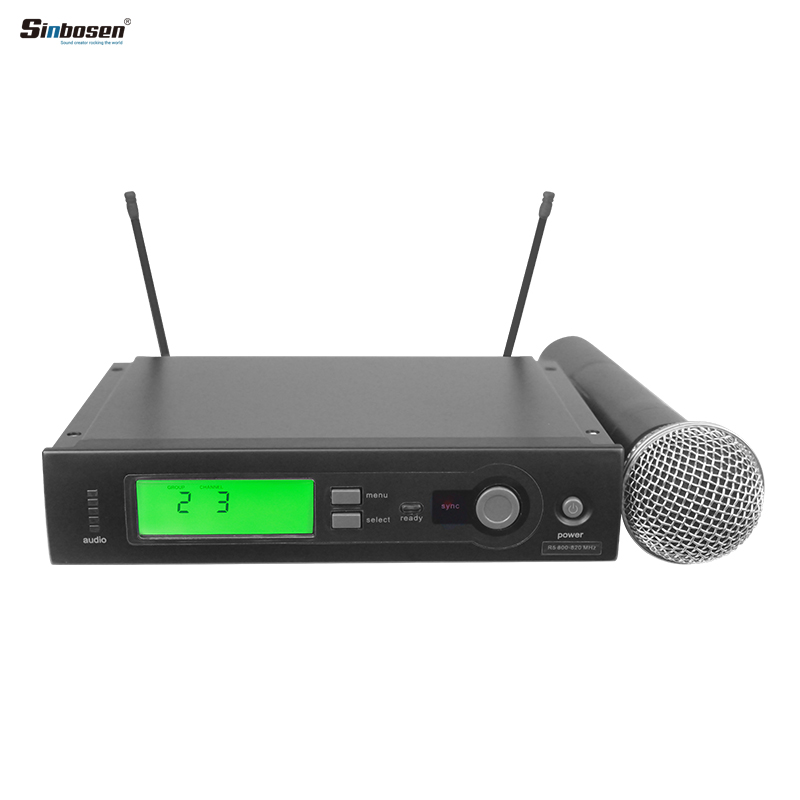 SLX24 A Wireless Microphone That Can't Be Known to Competitors