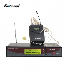 Sinbosen professional Wireless Microphone E-122 740-780MHz UHF Wireless Headset Microphone