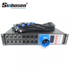 Sinbosen Professional Sound System LAS4+8 Line Array Speakers Power Controller Distributor