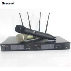 Sinbosen AXT220D UHF professional handheld lavalier headset digital wireless microphone