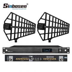 Sinbosen 500-950MHz wireless microphone system 848S microphone antenna amplifier 8 channel