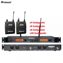 Sinbosen SR2050IEM professional wireless microphone system in ear monitor