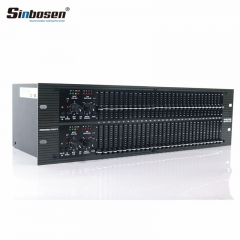 Sinbosen professional audio sound equalizer digital audio processor