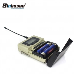 Sinbosen UHF 590-614.75MHz wireless microphone system portable stage monitor
