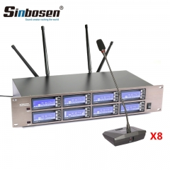 Sinbosen AT800S professional wireless Gooseneck conforence micorphone