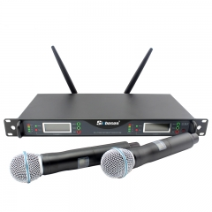 Wireless Microphone UHF Professional UR24D 770-820MHz Wireless Microphone System