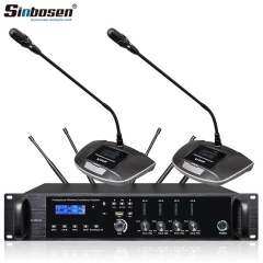 Sinbosen gooseneck Hand in hand microphone GS-200 GS-200S professional wireless conference meeting microphone