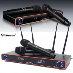 Sinbosen wireless microphone SM-20 home sound system family ktv microphone