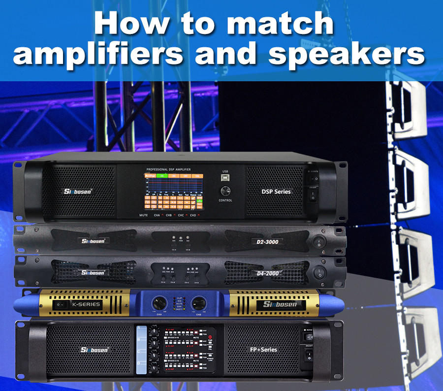 How to choose suitable amplifier for your professional speaker?