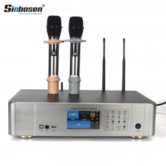 Sinbosen home theater ktv karaoke amplifier 450watt 2 channels S450 microphone amplifier effector